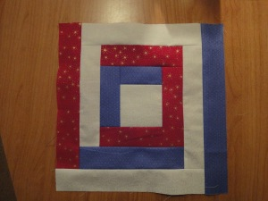 July 14th - Red, White & Blue Blog Hop - It's My Turn