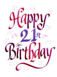 21st bday