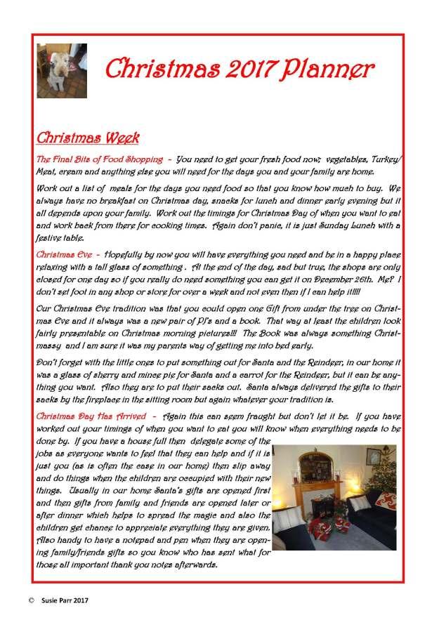Christmas Planner 2017 5