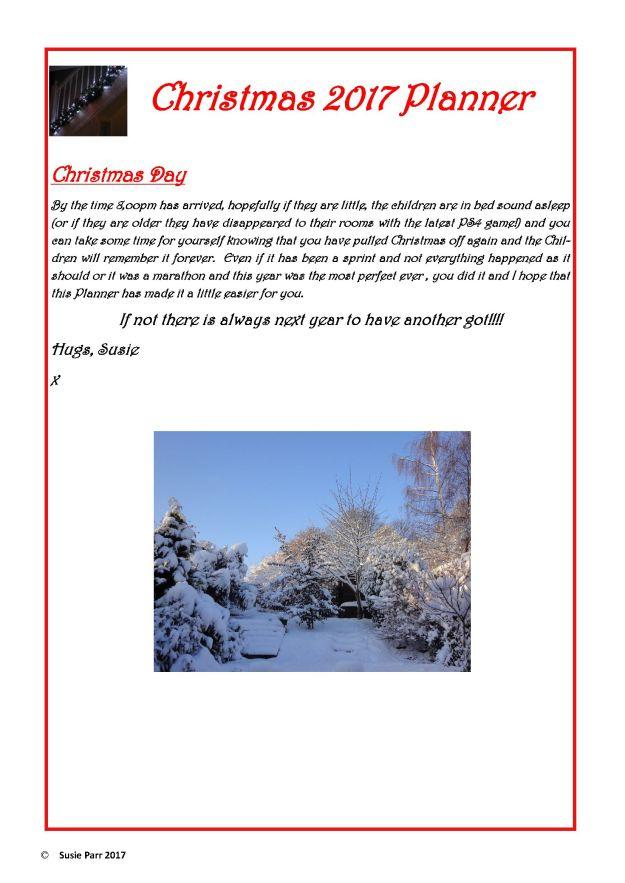 Christmas Planner 2017 6