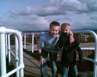 Boys at Inverness Locks